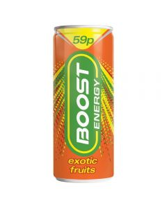 Boost Energy Exotic Fruits 250ml PM